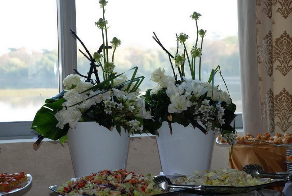 Aranjament florar - Salt and Pepper Catering bucuresti
