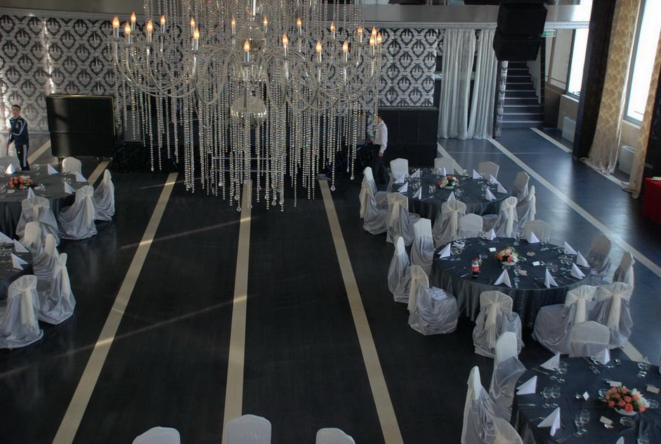 Aranjament sala evenimente - Salt and Pepper Catering bucuresti