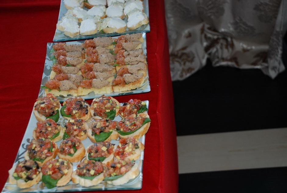 Bruschete - Salt and Pepper Catering bucuresti