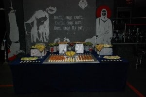 Aranjament eveniment catering - Salt and Pepper Catering Bucuresti
