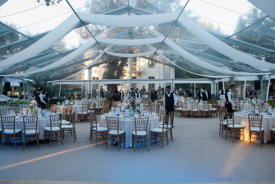 inchiriere cort nunta transparent 3