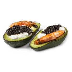 avocado cu creveti catering bucuresti