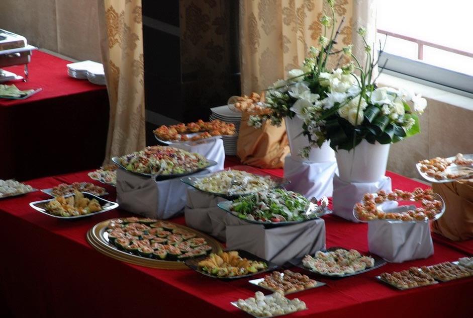 Aranjament masa - Salt and Pepper Catering bucuresti
