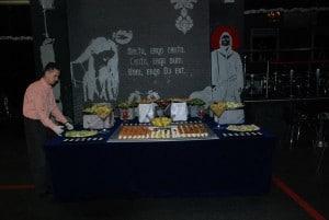 Aranjament eveniment catering - Salt and Pepper Catering Bucuresti
